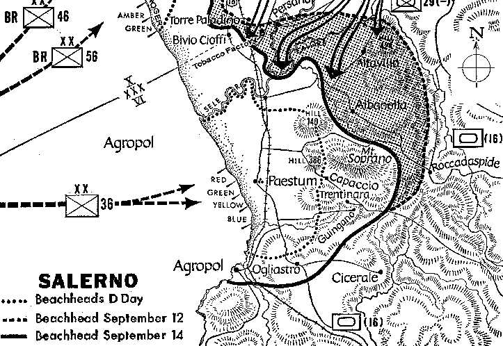 The italian campaign history map of salerno gumiabroncs Images
