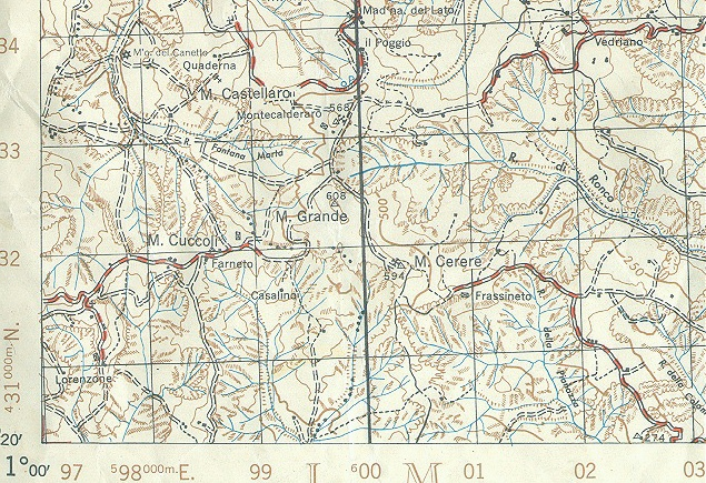 Army issue maps of the italian campaign map sheet 88 iii gumiabroncs