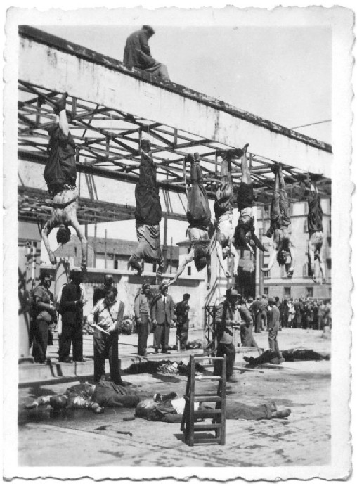 Execution Of Mussolini