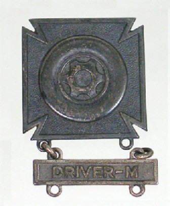 Proficiency Badges Army Driver
